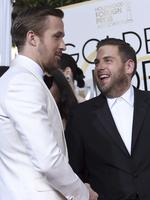 Ryan Gosling and Jonah Hill attend the 74th Annual Golden Globe Awards at The Beverly Hilton Hotel on January 8, 2017 in Beverly Hills, California. Picture: AP