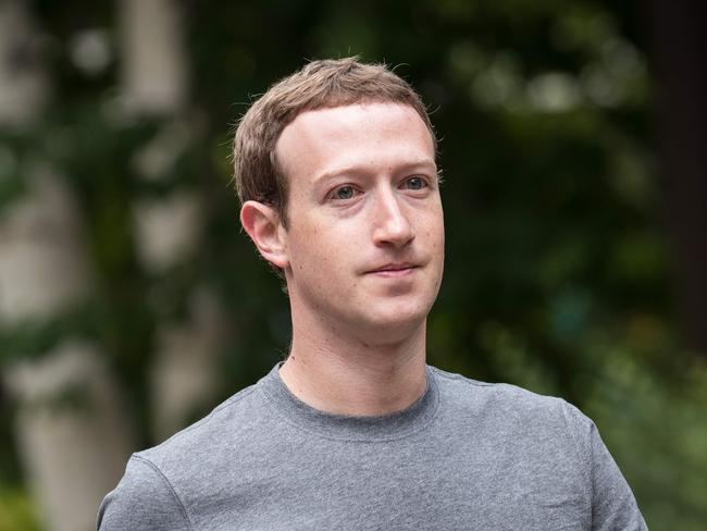 Mark Zuckerberg, chief executive officer and founder of Facebook. Picture: AFP