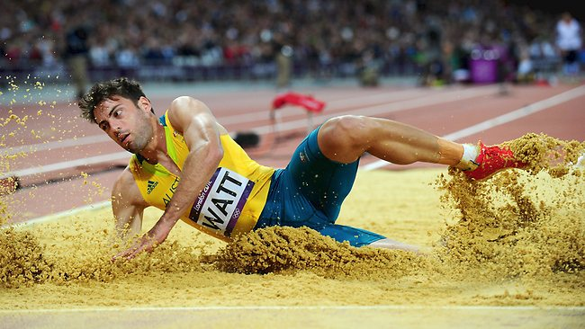 Mitchell Watt saved his best for last to win Olympic silver in the long jump.
