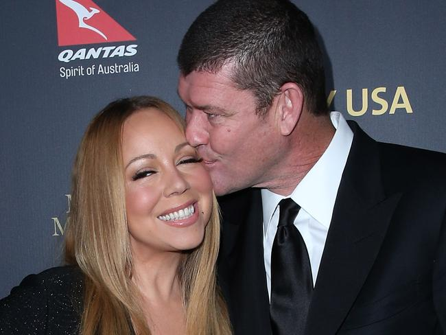 Mariah and James attend the 2016 G'Day Los Angeles Gala. Picture: Getty Images