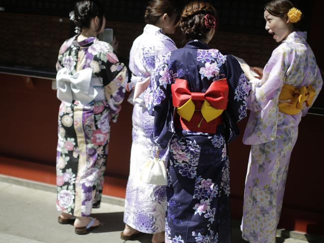 Young people will be able to travel to places like Japan. AP Photo/Eugene Hoshiko