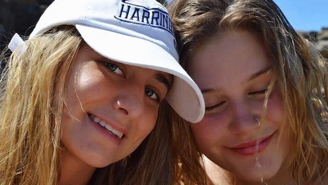Phoebe Brown, left, has written a powerful tribute to her friend Emma Powell, who took her own life in December.