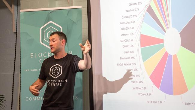 Martin Davidson, co-founder of Blockchain Centre.