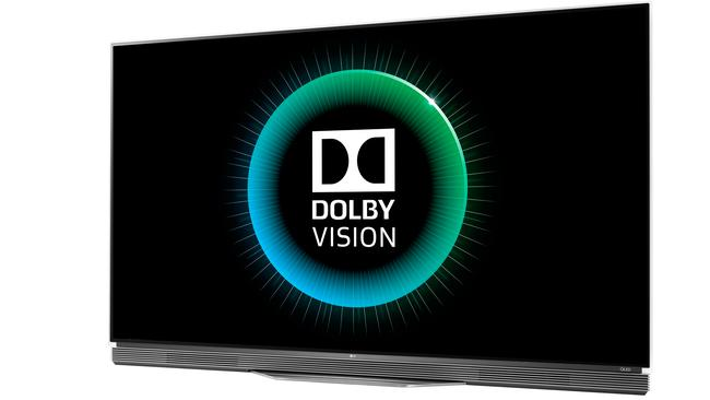 New brand ... LG's new OLED 4K televisions for 2016 will feature Dolby Vision HDR technology to increase the contrast of scenes.