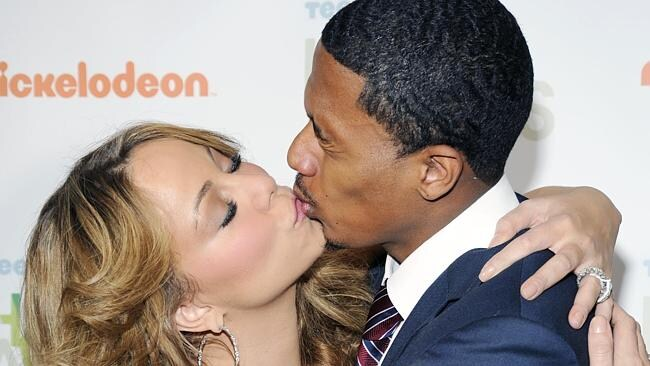 All Mariah wants for Christmas is a decent kiss.