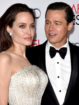 Brad Pitt and Angelina Jolie are in the midst of a divorce. Picture: AFP/Kevin Winter