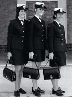 <p>Policewomen were issued with handbags custom-made to carry batons in 1972.Picture: Victoria Police Museum Collection</p>