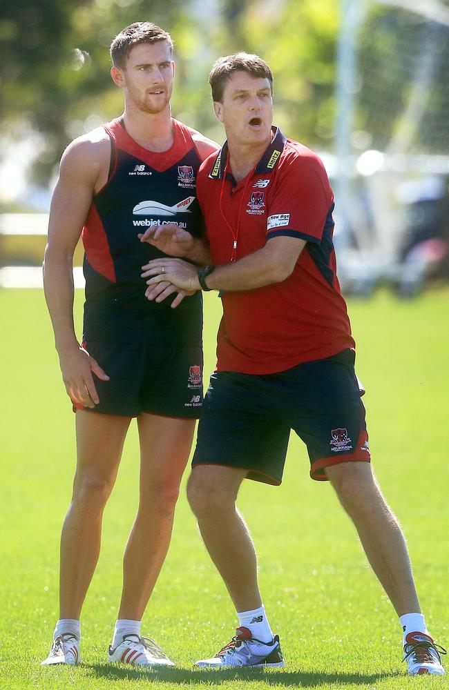 Jeremy Howe is playing a new role under Paul Roos. Picture: Wayne Ludbey