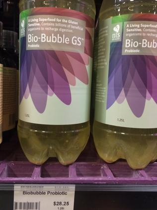 A probiotic drink for $28.