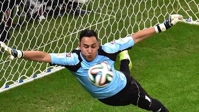 Keylor Navaswas spectacular for Costa Rica.