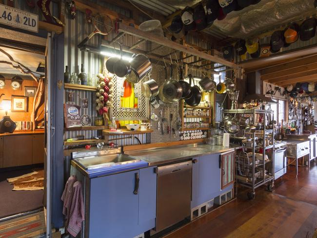 Walker's Run has every pot and pan you could wish for, and more. Photo: Airbnb
