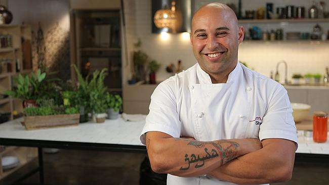 Chef Shane Delia was flown to Washington to cook for the lavish event.