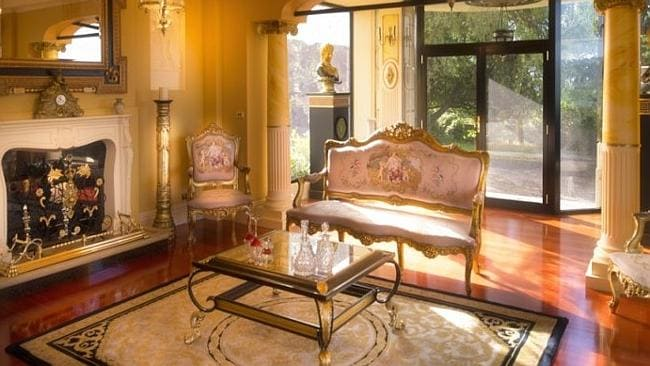 IT would be almost as nice as taking tea in the ornate sun-filled room. Picture: Supplied realestate.com.au