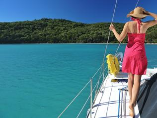 ESCAPE: Celeste Mitchell Whitsundays - Sailing Whitsundays. Picture: Tourism & Events Queensland