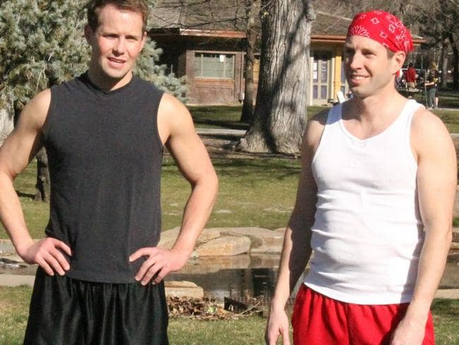 Gay husbands ... Pret and Jeff are among the married men documented in My Husband's Not Gay. Picture: TLC