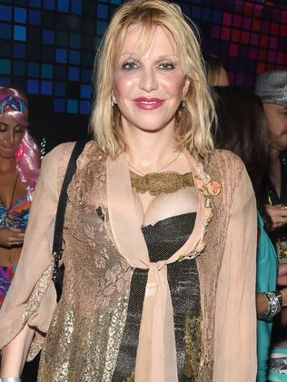 Courtney Love attends Casamigos Halloween Party. Picture: Getty