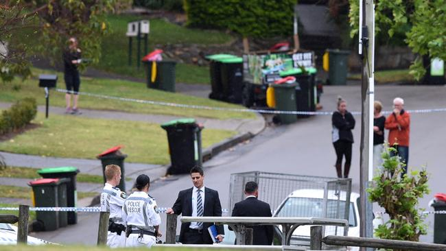 Both parents and their two children were found dead at the scene. Picture: AAP
