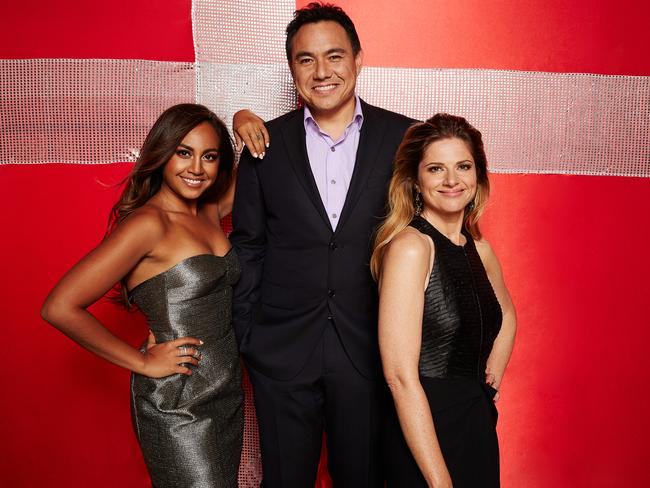 Sam Pang joined Julia Zemiro to host the Eurovision Song Contest, which featured a performance by Jessica Mauboy.