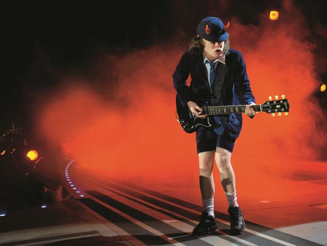 A big year on the road ... AC/DC's world tour begins early next month.