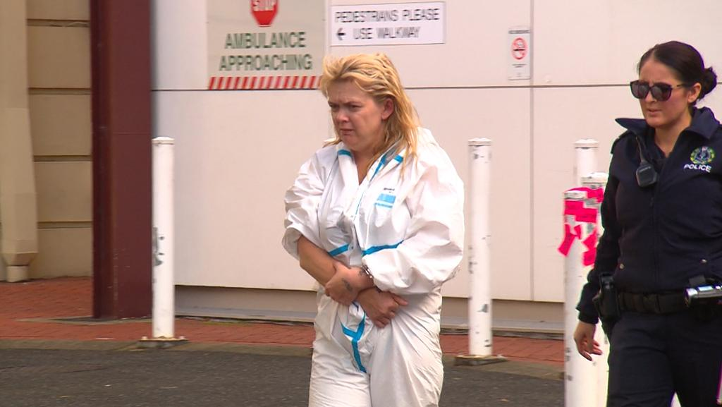 Accused murderer Leanne Prak. She is charged over the stabbing of Michael McEvoy at Holden Hill on Tuesday, May 3. Picture: Channel 9.
