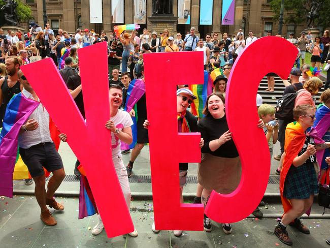 Australia has finally joined a growing list of countries where same-sex marriage is legal. Picture: Getty Images