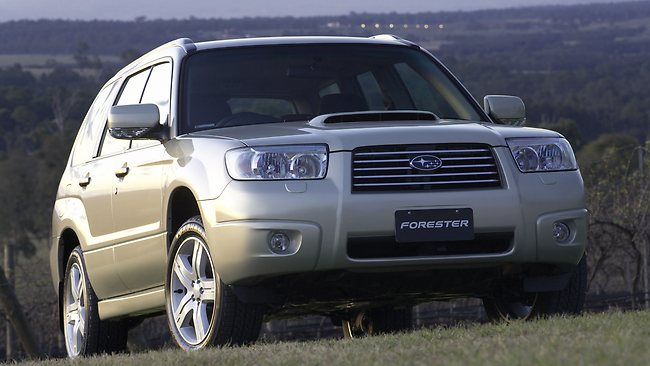 The 2006 Subaru Forester station wagon.
