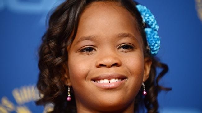 Actor Quvenzhane Wallis. Picture: AFP PHOTO