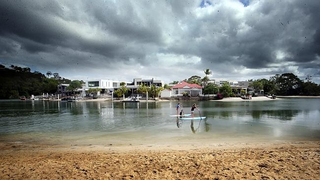 Witta Circle in Noosa was among the most expensive areas. Pic Glenn Barnes