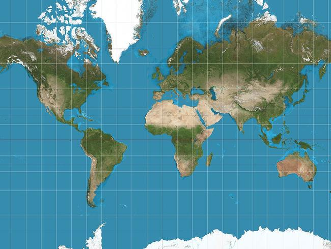 Why the map of the world is not as accurate as you think Mercator projectio