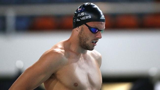 Kyle Chalmers has his sights set on rebounding at the Commonwealth Games.