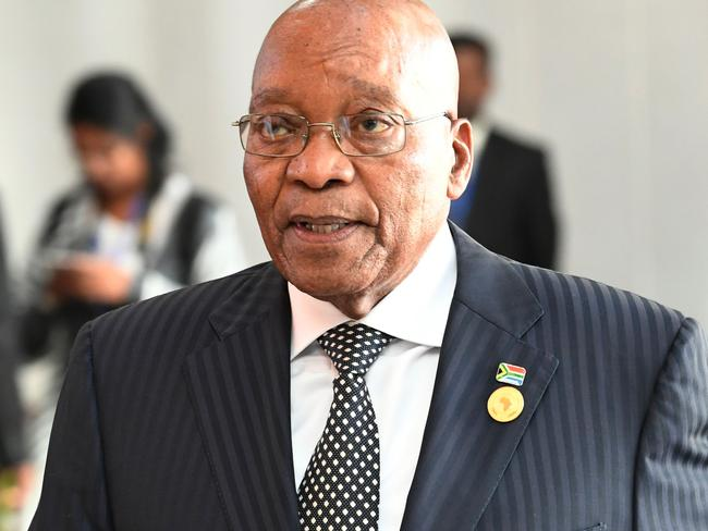 South African President Jacob Zuma is facing renewed pressure to stand down. Picture: Simon Maina/AFP