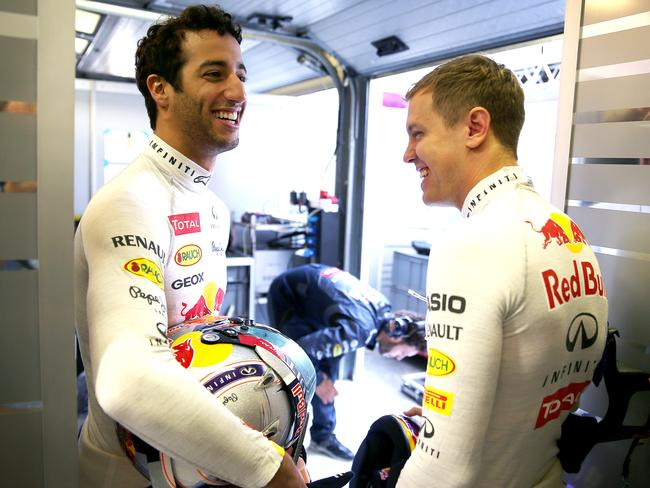 Daniel Ricciardo earns a reported $1.1m salary compared to his Red Bull teammate Sebastian Vettel's $31.7m.