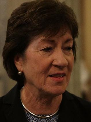US Sen. Susan Collins voted no on the first healthcare bill. Picture: Getty