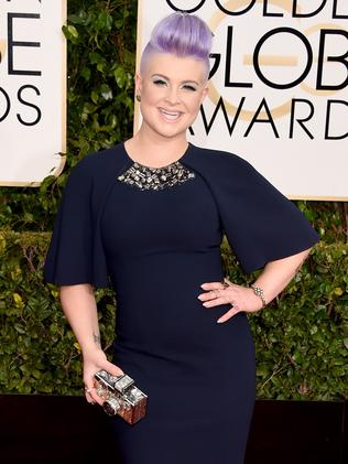 Navy statement ... Fashion Police co-host Kelly Osbourne. Picture: Getty Images