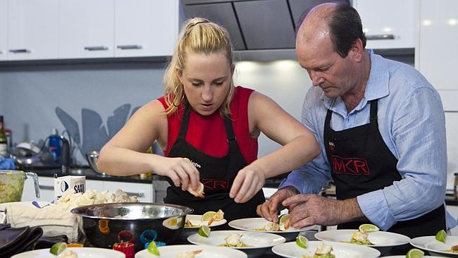 My Kitchen Rules Corrine and David's instant restaurant