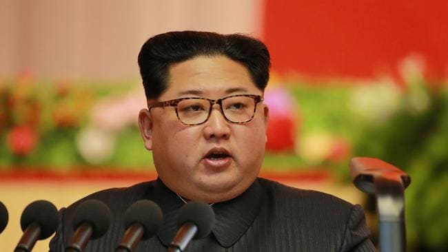 North Korean leader Kim Jong-un. Picture: AFP