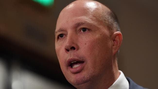Federal Immigration Minister Peter Dutton has spoken out about street gang violence in recent weeks. Source: AAP/Joe Castro.