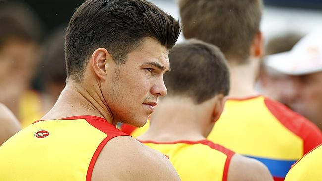 Jaeger O'Meara won the Rising Star Award after a brilliant debut season in 2013. Picture: Jerad Williams