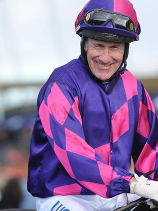 Jeff Lloyd after his win. Picture: Simon Bullard