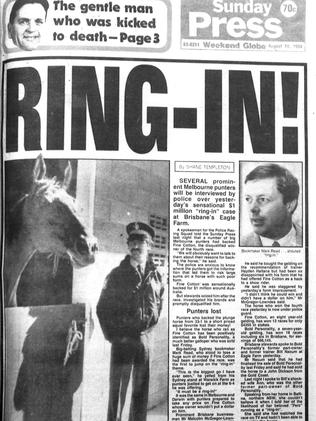 The 1984 scandal was front page news.
