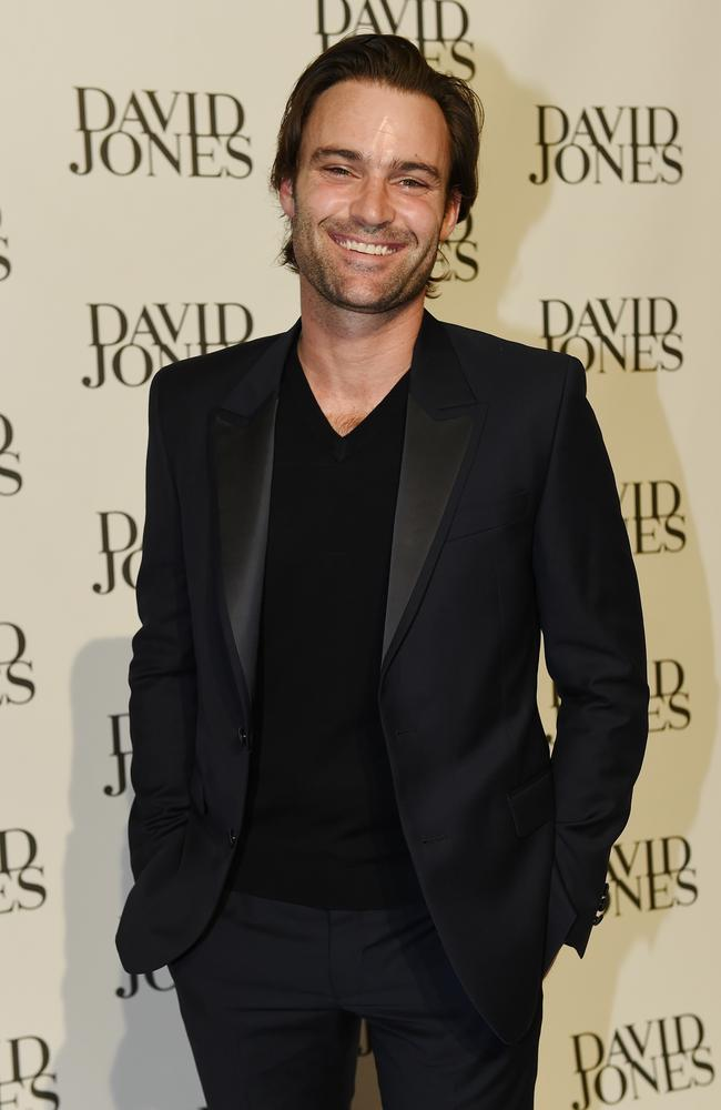 Matthew Le Nevez. David Jones Spring-Summer launch fashion show at David Jones