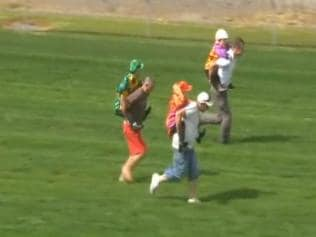 Piggyback Race Of Midget Jockeys At Cranbourne Racetrack Accused Of Ridiculing Short Statured