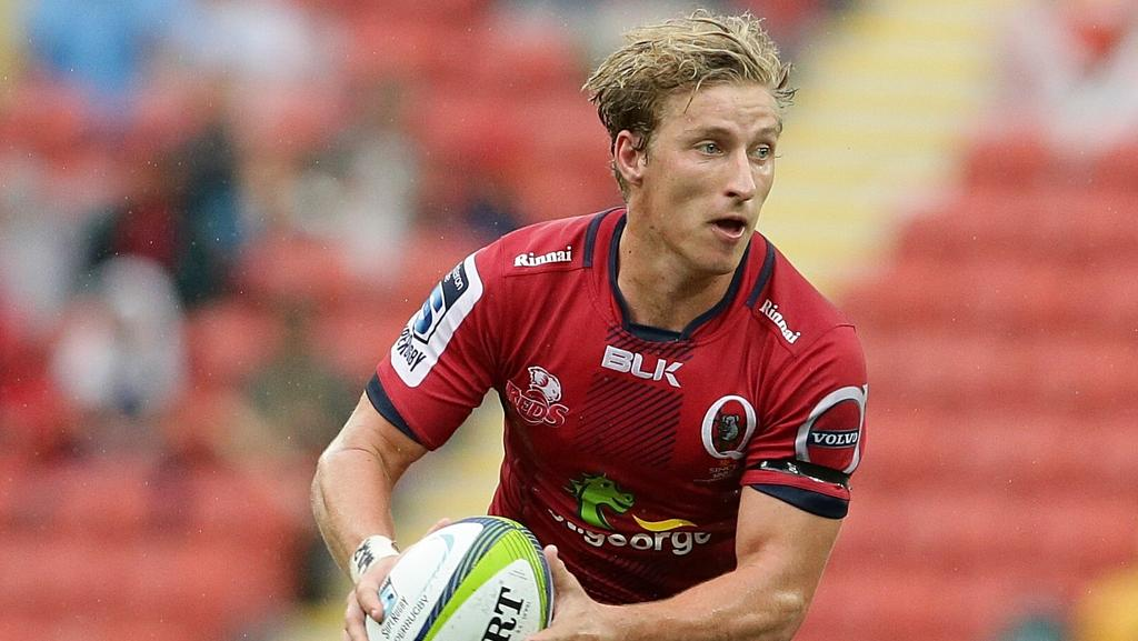 Jake McIntyre will lead the Queensland Reds around the park in the absence of Quade Cooper.