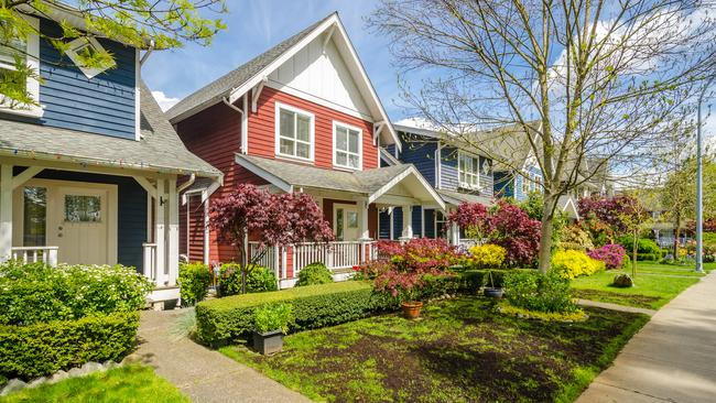 The average house price in Vancouver, British Columbia, was $878,242 in January, down 18.9 per cent from a year earlier, when it stood at $1.038 million, according to the Canadian Real Estate Association.