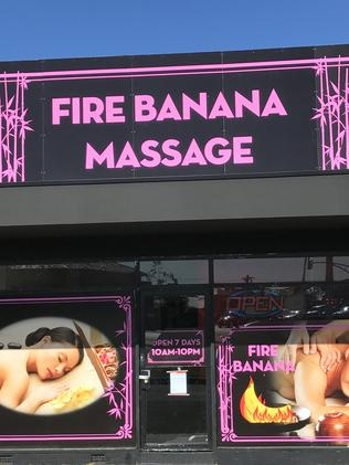 Fire Banana Massage has been told it must shut down.