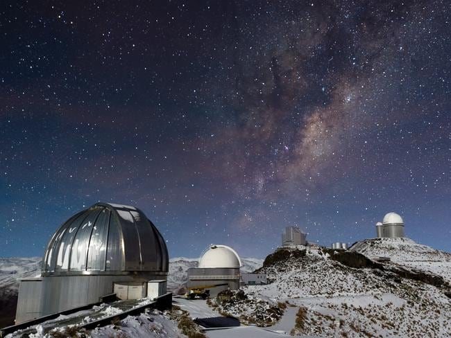 In the outskirts of the Atacama Desert, far from the light-polluted cities of northern Chile, the skies are pitch-black after sunset. Such dark skies allow some of the best astronomical observing to take place — and ESO's La Silla Observatory has an incredibly clear view of the night sky. Picture: José Francisco Salgado / ESO