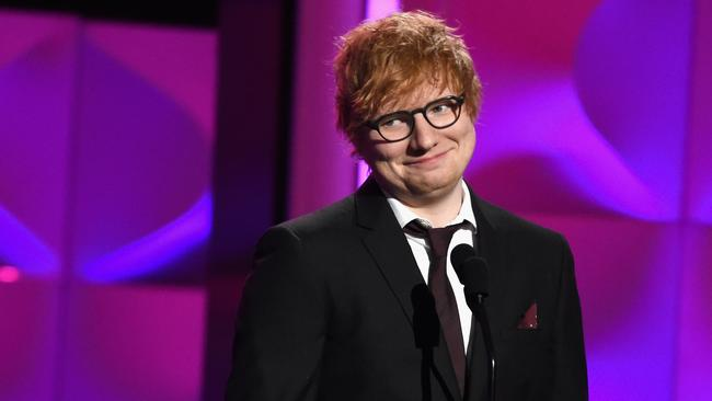 Ed Sheeran is not faking it. (Photo by Michael Kovac/Getty Images for Billboard)