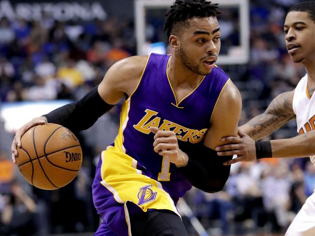 D'Angelo Russell is getting a team.
