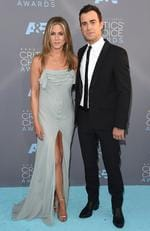 Jennifer Aniston and Justin Theroux attend the 21st Annual Critics' Choice Awards on January 17, 2016 in California. Picture: Getty