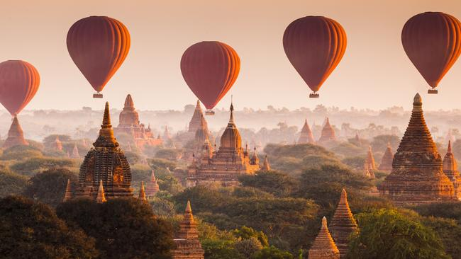 Myanmar is very poor but incredibly beautiful, and it's just opened its doors to foreign tourists.